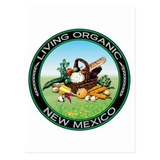 Organic New Mexico Postcard