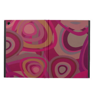Organic pink cover for iPad air