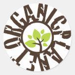 Organic Planet Stickers
