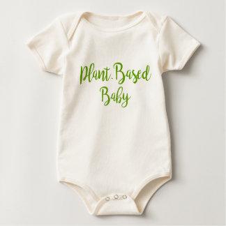 Organic Plant-Based Baby Clothing Baby Bodysuit