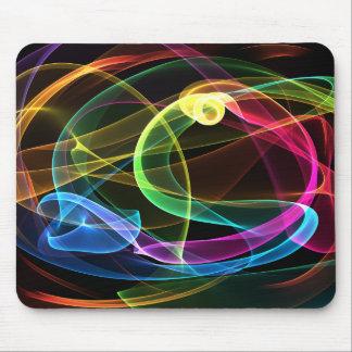 Organic Rainbow Mouse Pad