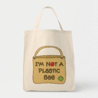 Organic Shopping Tote-Go Green Environment