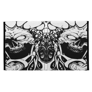 organic skulls ipad foilio case iPad case