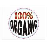 Organic Tag Postcard