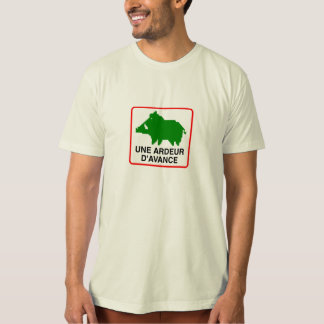 ORGANIC tee-shirt Man - a HEAT IN ADVANCE T-Shirt
