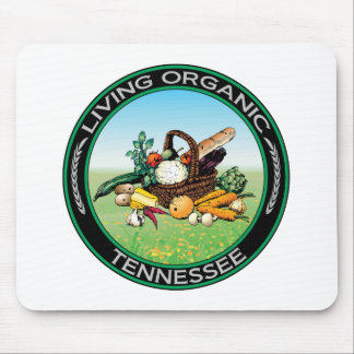 Organic Tennessee Mouse Pad