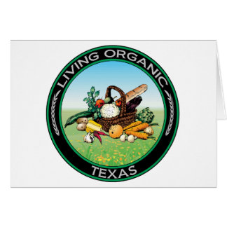 Organic Texas Greeting Card
