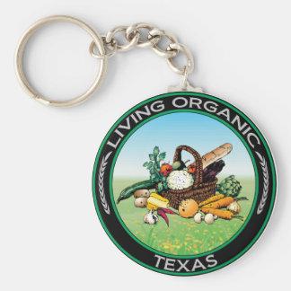 Organic Texas Key Chain