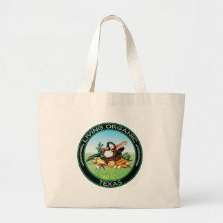 Organic Texas Jumbo Tote Bag