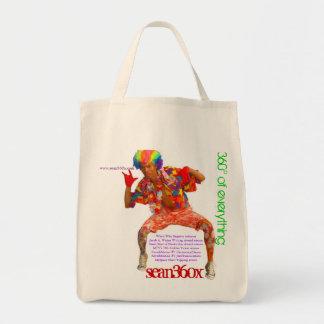 Organic Tote 360° sean360x Grocery Tote Bag