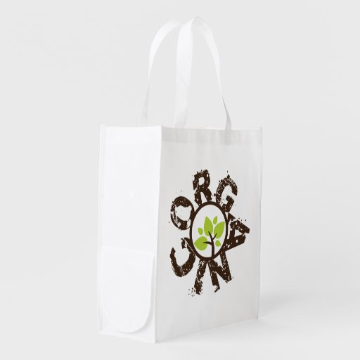 Organic Tree Organic Planet Reusable Canvas Bags Grocery Bags