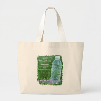 organic water jumbo tote bag