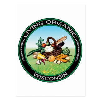Organic Wisconsin Postcard