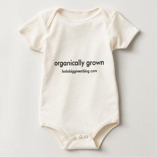 organically grown, bobsbiggreenblog.com baby bodysuit