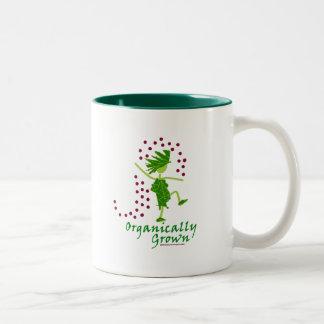 Organically Grown T shirts & gifts Two-Tone Mug