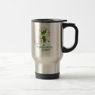 Organically Grown T shirts & gifts Stainless Steel Travel Mug