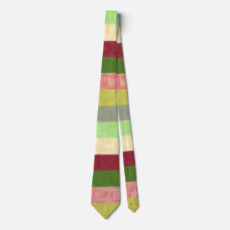 Organically Hued Pastel Paint Tie