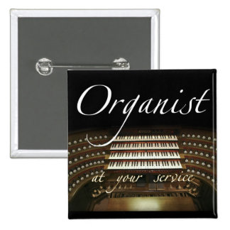 Organist at your service button