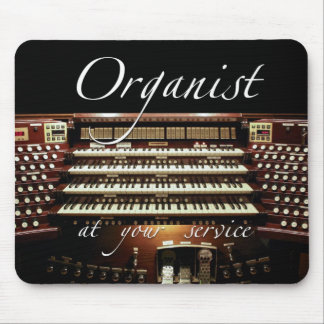 Organist at your service Mousepad