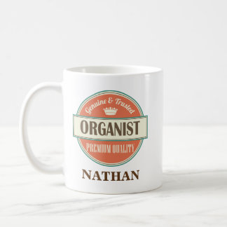 Organist Personalized Office Mug Gift