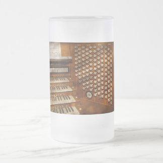 Organist - Ready at the controls Beer Mug
