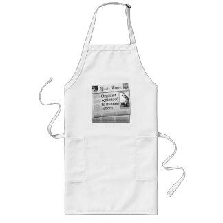 Organist sentenced apron (UK spelling)