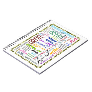 Organists are everything notebook
