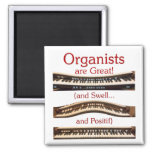 Organists are Great magnets