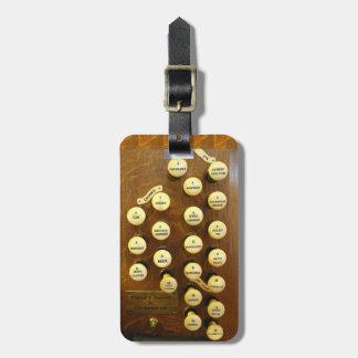 Organist's perfect organ travel bag tag