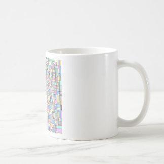 Organized Chaos Basic White Mug