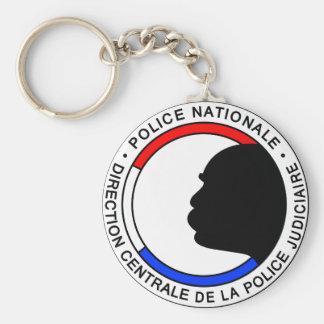 Organizes French Basic Round Button Key Ring