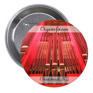 Organs forever! Christchurch Town Hall button