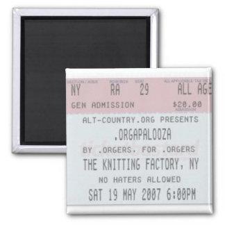 .Orgapalooza - Ticket Magnet