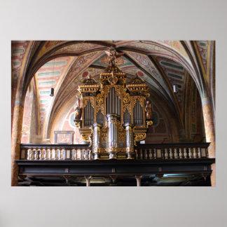 Orgel Pfarrkirche St.Wolfgang am Wolfgangsee Poster