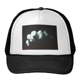 Orginal Painting of Praying Hands Cap