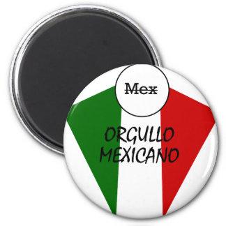 Orgullo Mexicano 6 Cm Round Magnet