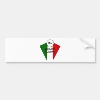Orgullo Mexicano Car Bumper Sticker