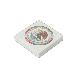 Orgullo Mexicano (Eagle from Mexican Flag) Stone Magnet