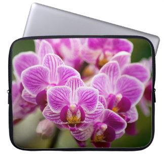 orichid flower laptop case