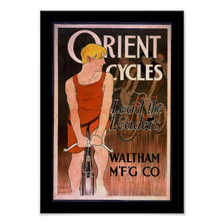 Orient Cycles 1890 s Poster