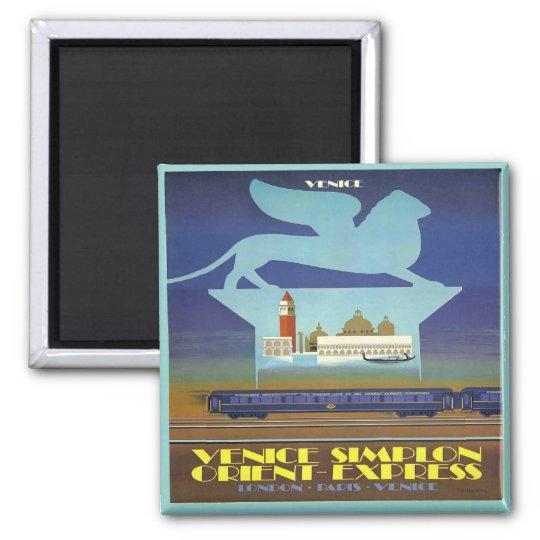 Orient Express Venice Magnet