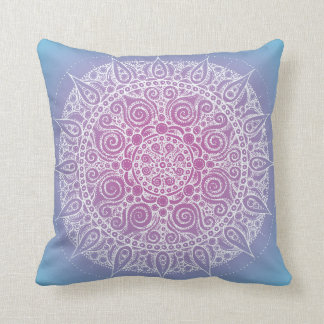 Orient Yoga Design Pillow Blue/Purple