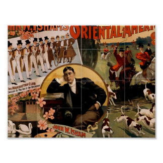 Oriental America, 'Grand Hunting Chorus' Vintage T Poster