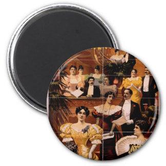 Oriental America, 'Operatic Celebrities' Vintage T Magnet