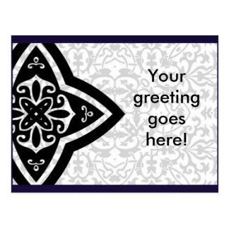 Oriental arabic postcard