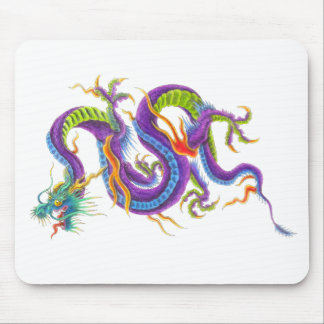 Oriental Asian Dragon Tattoo Mouse pad