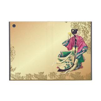Oriental Beauty on Gold iPad Mini Case