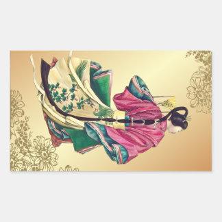 Oriental Beauty Sticker
