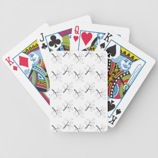 oriental berries bicycle playing cards