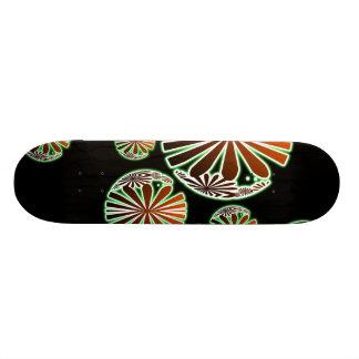 Oriental Chic Pattern Skateboard